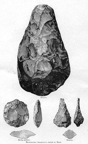 כלי אבן של האדם הזקוף (