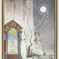 איור של קיי נילסון, 1914. אוסף הספרייה הלאומית של ניו זילנד
