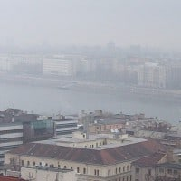 מבט על בודפשט, בירת הונגריה. צילום: פרנסיסקו גונזלס