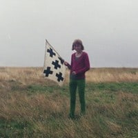 """""""דגל"""", 2009. מאת עמית ברלוביץ"""