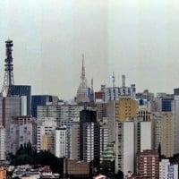 צילום פנורמי של העיר סאו פאולו בברזיל