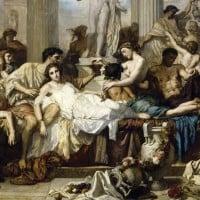 הדקדנס הרומאי, מאת הצייר הקלאסי תומס קוטור מ-1847