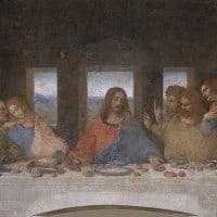"""""""הסעודה האחרונה"""", מאת לינאונרדו דה וינצ'י."""