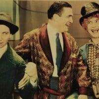 """האחים מארקס בפוסטר לסרטם """"Monkey Business"""" מ-1931"""