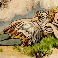 עטיפת הספר ״עליזה בארץ הפלאות״, 1890