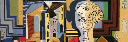 Studio with Plaster Head, 1925, מאת פבלו פיקאסו. באדיבות: וואלי גובץ
