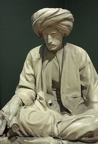 פסל של אדוארד ויליאם ליין מאת ריצ׳רד ג׳יימס ליין