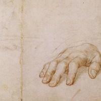 ידו הימנית של ארסמוס, מאת האנס הולביין