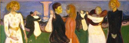 """""""ריקוד החיים״ מאת אדוורד מונק, 1899–1900."""
