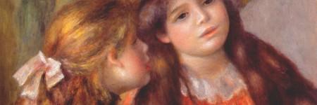 שתי ילדות, רנואר