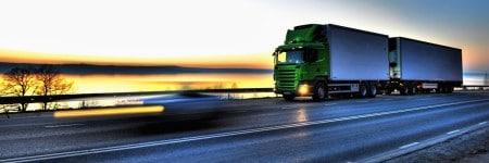 משאית למרחקים ארוכים.