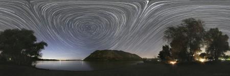 פנורמת כוכבים ב-360 מעלות