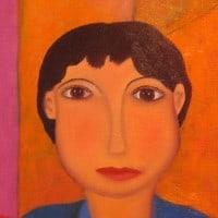 ציור, מקסיקו, אחיות, אחים, Oaxaca