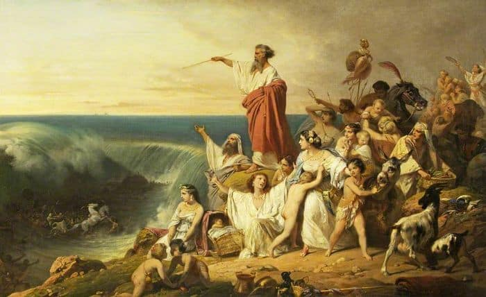 בני ישראל חוצים את ים סוף, פרדריק שופן