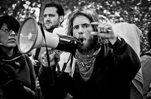 Occupy, חופש הביטוי, סן פרנסיסקו