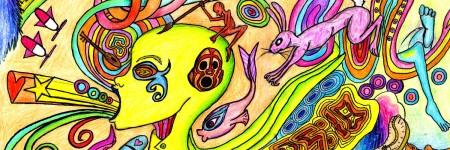 ציור LSD, טריפ
