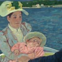 Mary Cassatt, שיט בסירה, מארי קאסאט