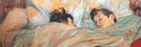 המיטה, טולוז-לוטרק