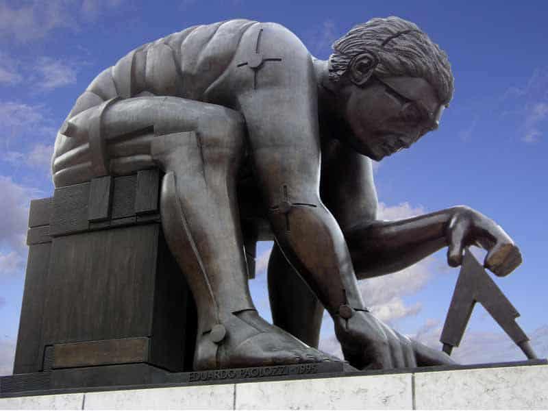 אדוארדו פאולוצי, ניוטון, הספרייה הבריטית, Paolozzi