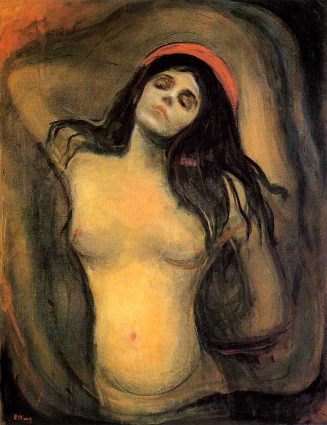 """""""מדונה"""" של אדוארד מונק, שאספן האמנות רכש ב-12 מיליון דולר"""