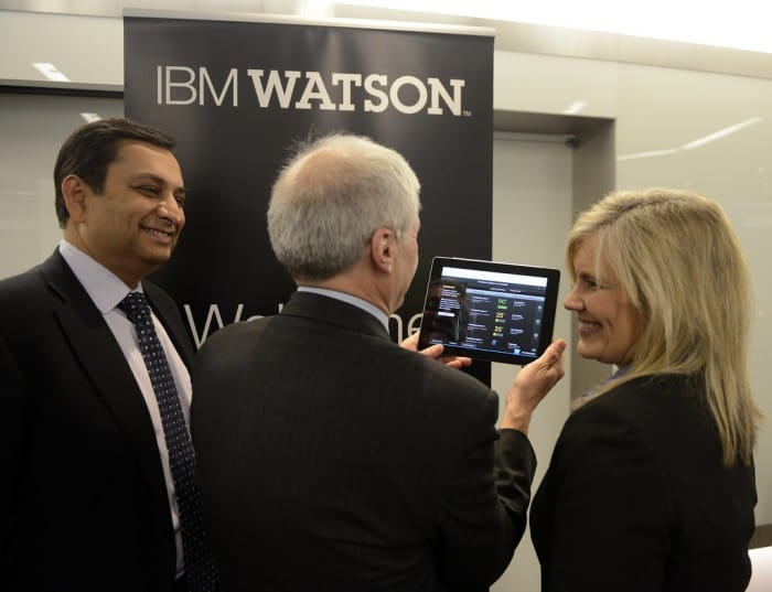 . IBM, Memorial Sloan-Kettering and WellPoint introduced the first commercially based products based on Watson at an IBM healthcare forum in New York City,