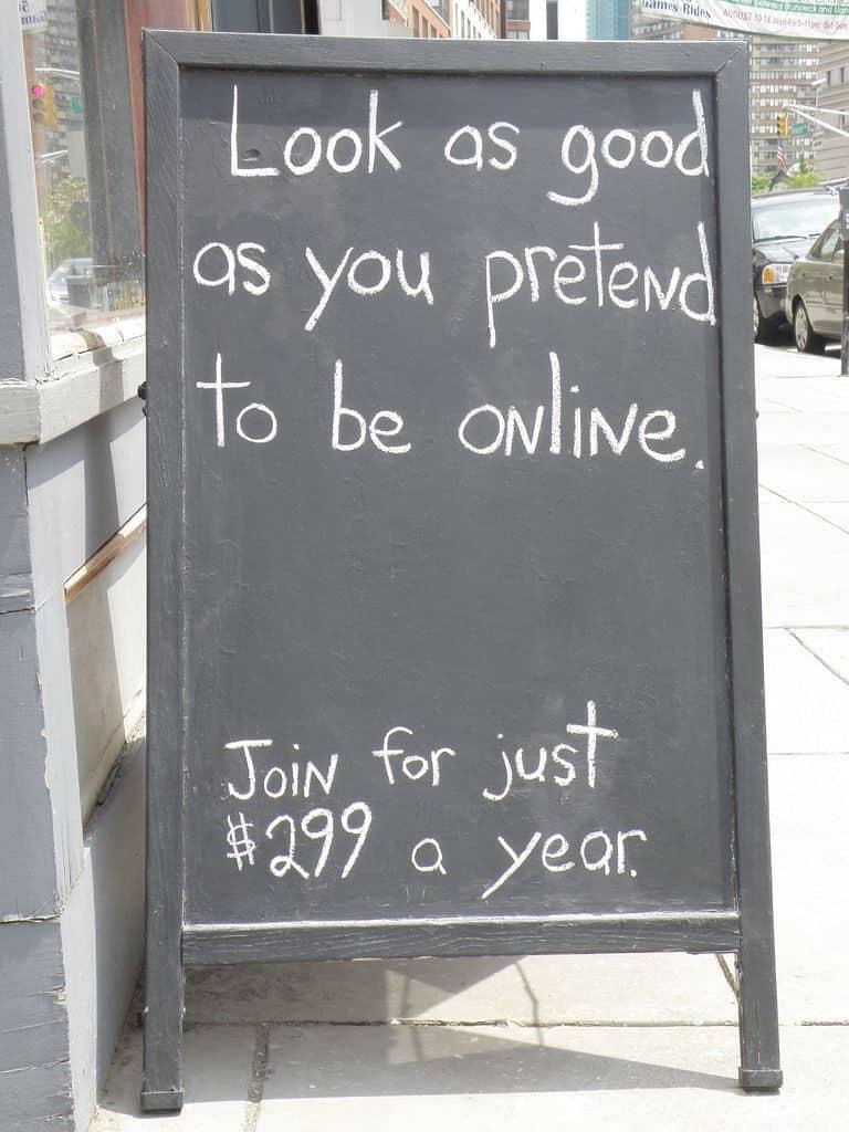 פרסומת למכון כושר, ניו יורק 2012