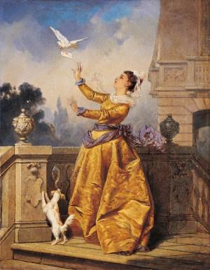 The messenger of love by pl:Leonard Straszyński