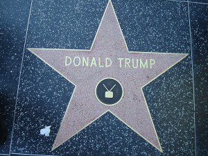 כוכב של טראמפ בשדרת הכוכבים בהוליווד. צילום: ארתור אנדריי