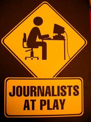 עיתונאים במשחק