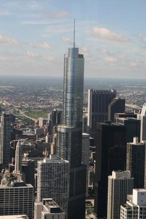 מגדל טראמפ בשיקגו. צילום: ברסמט רוסטאד