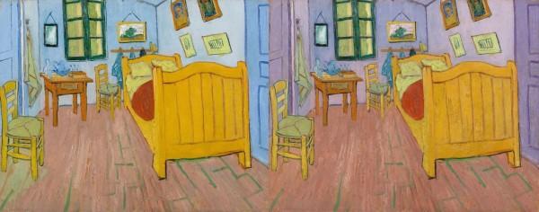 חדר השינה בשתי גירסאות