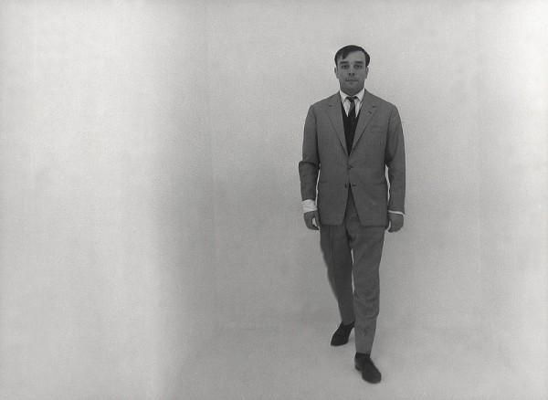"""איב קליין, """"בחדר הריק"""", 1961"""