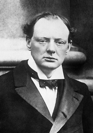 צ'רציל ב-1904. צילום: ממשלת בריטניה