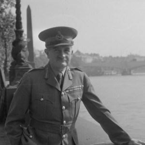 פילדמרשל ויליאם ג'וזף סלים בלונדון, 1945. צילום: ממשלת בריטניה