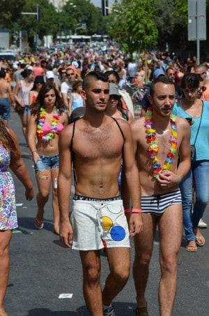 מצעד הגאווה בתל אביב, יוני 2013.  צילום: קריפיקסל