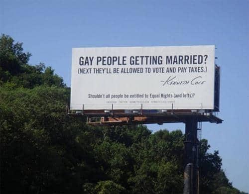 """שלט חוצות בחוף המזרחי של ארה""""ב. צילום: ג'ד קרול"""