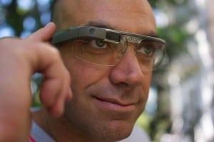 """משקפי """"גוגל גלאס"""". צילום מאת Loic Le Meur"""