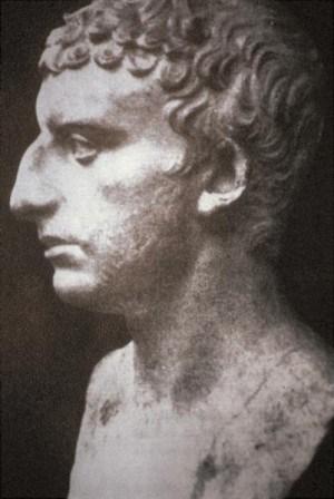 פסל רומי המציג, על פי השערה ספקולטיבית, פרוטומה של יוסף בן מתתיהו
