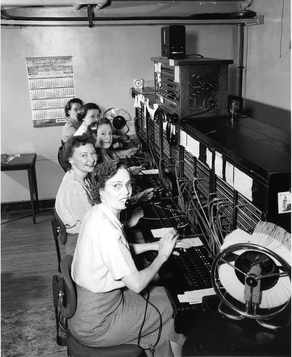 מרכזניות ב-1952. צילום: הארכיון העירוני של סיאטל