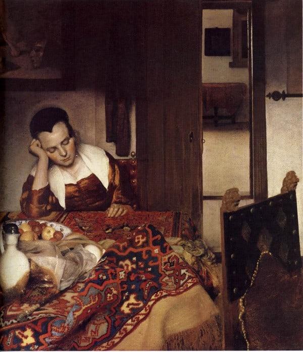 """""""עוזרת בית ישנה"""" של ורמיר, 1657"""