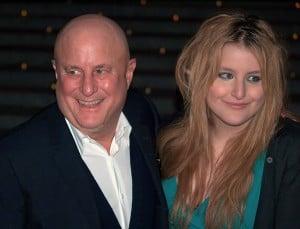 פרלמן עם בתו סמנתה ב-2009. צילום: דיוויד שנקבון