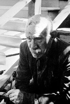 אחד משלושת הצילומים היחידים של האמן הנרי דארג'ר