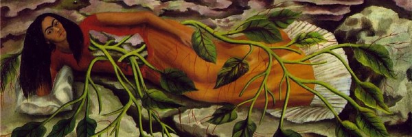 """""""שורשים"""" מאת פרידה קאלו, 1943. אוסף Marilyn O. Lubetkin"""