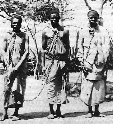 עבדים שנתפסו באפריקה במאה ה-19