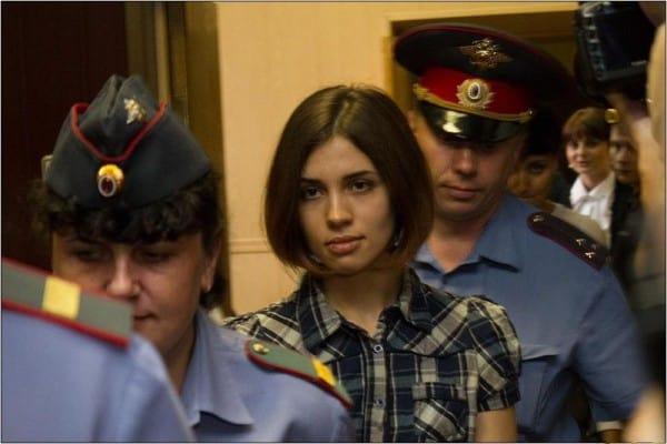 חברת פוסי ריוט טולוקוניקובה נשלחה באחרונה לרצות את עונשה בכלא בסיביר