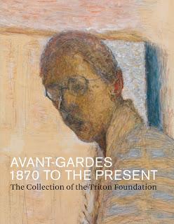 עטיפת ספר אמנות עם יצירות מאוסף טריטון שרואה אור השנה בהוצאת ייל