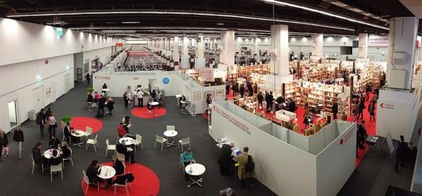 יריד הספרים הגדול בפרנקפורט, 2008. צילום: PWTO