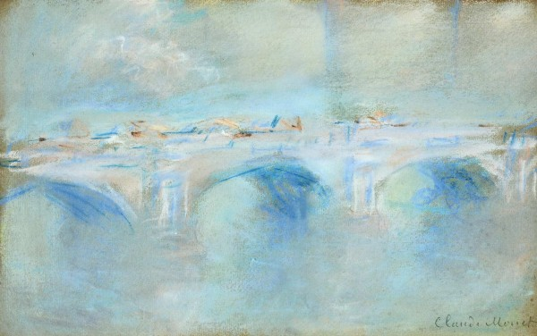 """""""גשר ווטרלו, לונדון"""", קלוד מונה. 1901"""