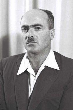 יצחק בן-אהרון, 1951. צילום: ארכיון הצילום הלאומי