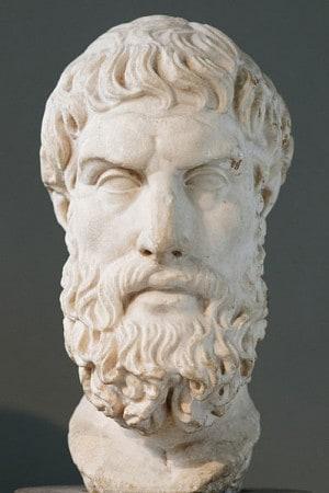 פסל של אפיקורוס מסוף המאה ה-3–תחילת המאה ה-2